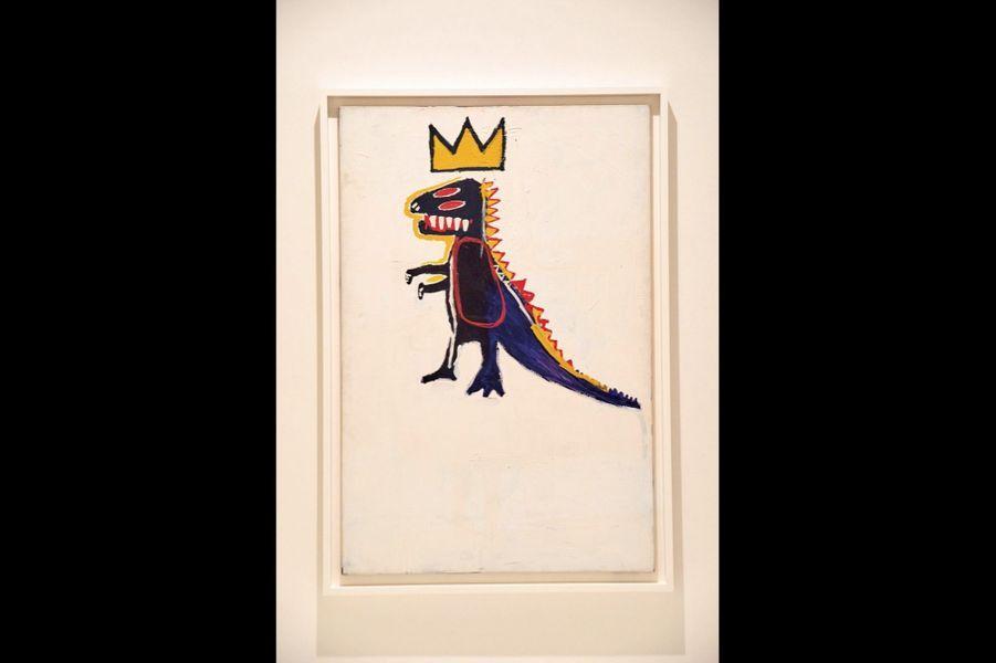 1984, « Pez Dispenser » (« Distributeur de bonbons Pez »). La figurine est coiffée d'une couronne à trois pointes, signature du graffeur dans sa jeunesse.