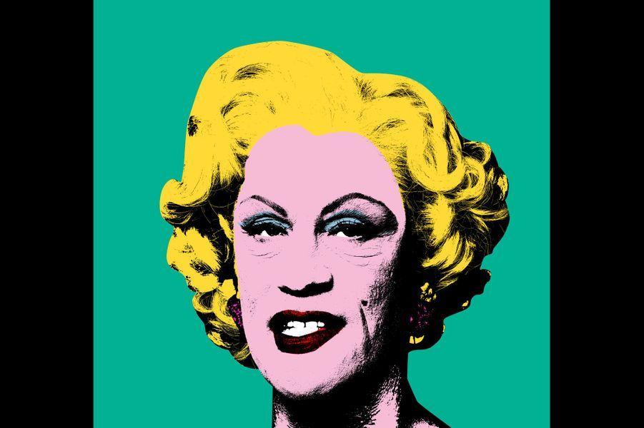 "D'après ""Green Marilyn"" d'Andy Warhol, 1962"