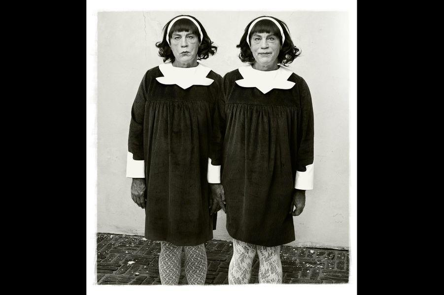 """D'après """"Identical Twins"""" de Diane Arbus, 1967"""