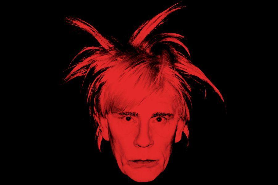 """D'après """"Self Portrait"""" d'Andy Warhol, 1986"""