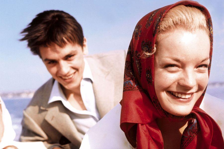 Le 12e festival de Cannes 1959 : Romy Schneider & Alain Delon