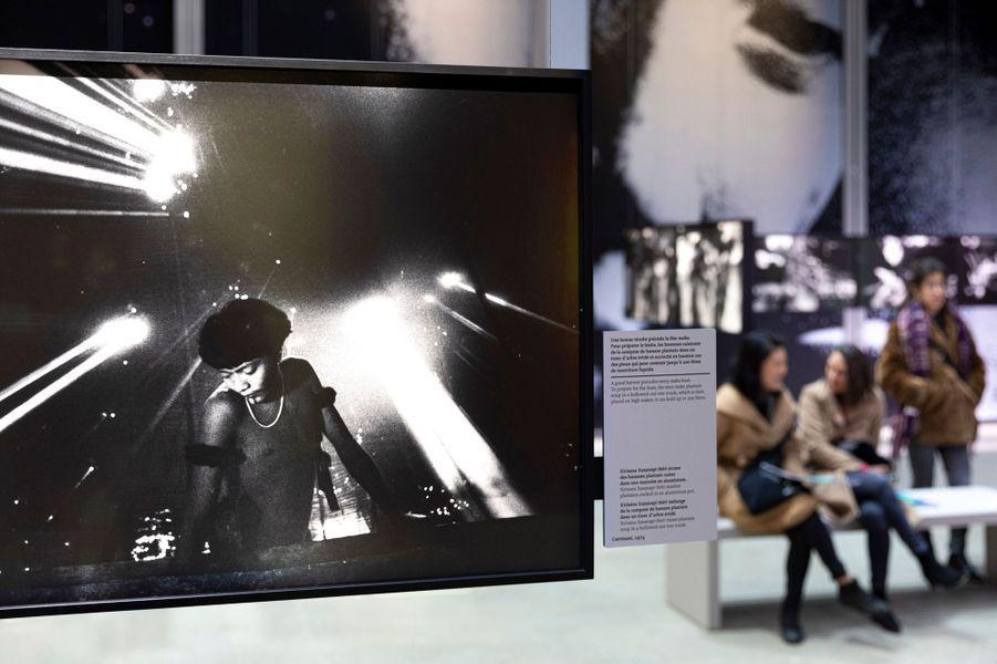 """Vernissage de l'exposition """"Claudia Andujar. La lutte Yanomami"""" à la Fondation Cartier pour l'art contemporain"""