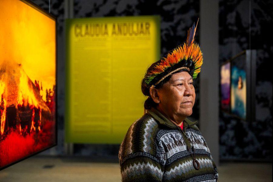 Davi Kopenawa, chaman et porte-parole des Indiens Yanomami du Brésil