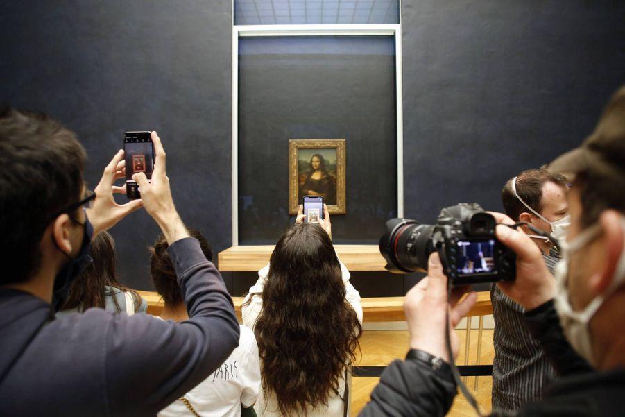 Le musée du Louvre le 6 juillet 2020.