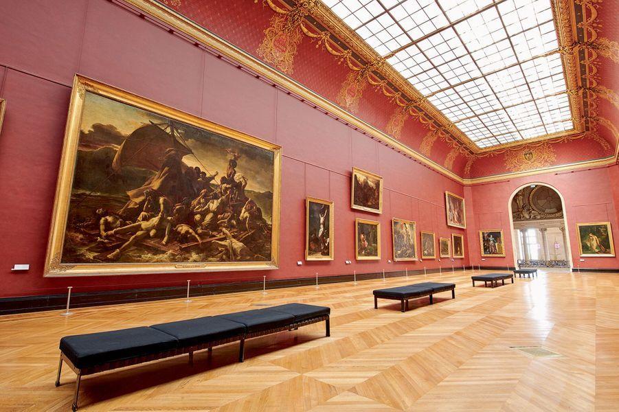 . « Le radeau de la Méduse » de Géricault, manifeste du romantisme, aile Denon.