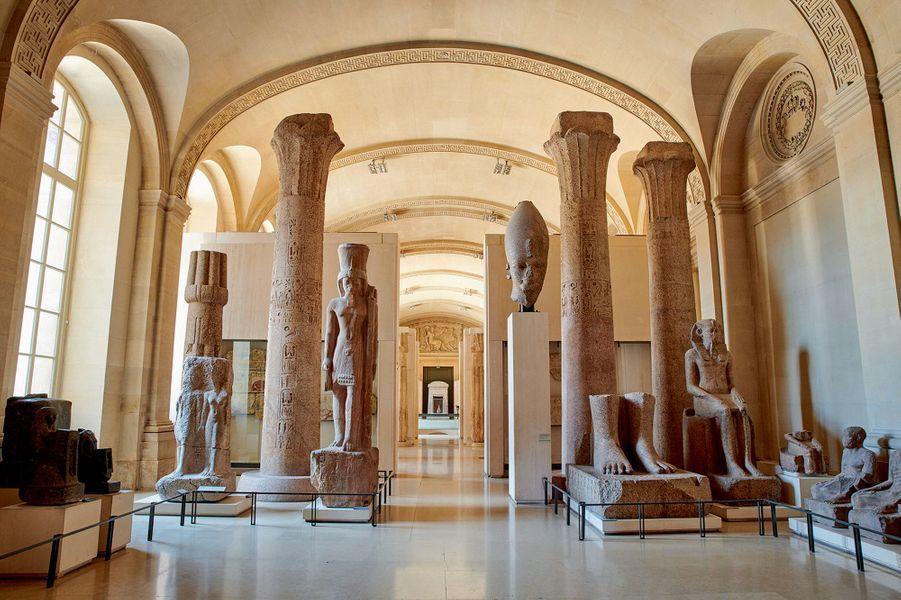 La salle du Temple, galerie égyptienne.