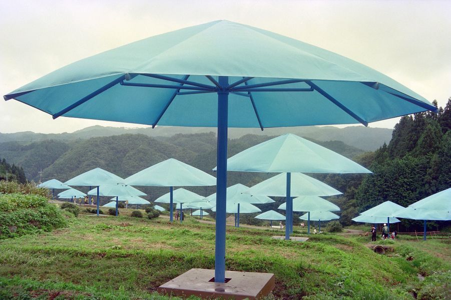 """""""Les parapluies"""" au Japon en 1991"""
