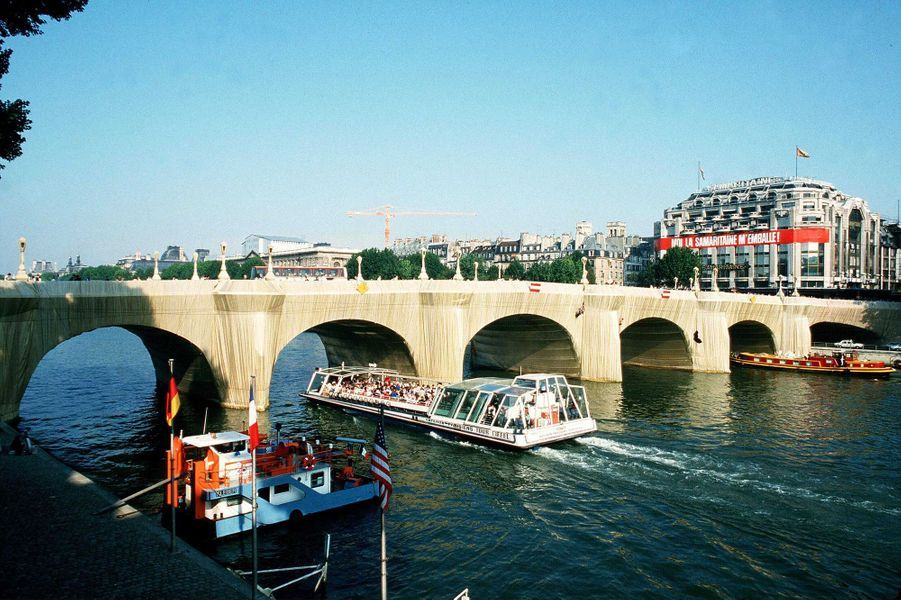 Le Pont-Neuf à Paris en 1985