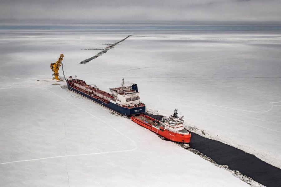 Le terminal Arctic Gate est situé dans le golfe d'Ob, près du cap Kamenny (Russie). Le premier baril de pétrole a été expédié du terminal en 2014, et le transport en hiver a commencé en 2015. Cela contribue au développement de l'exploitation du gisement pétrolier du port de Novy.