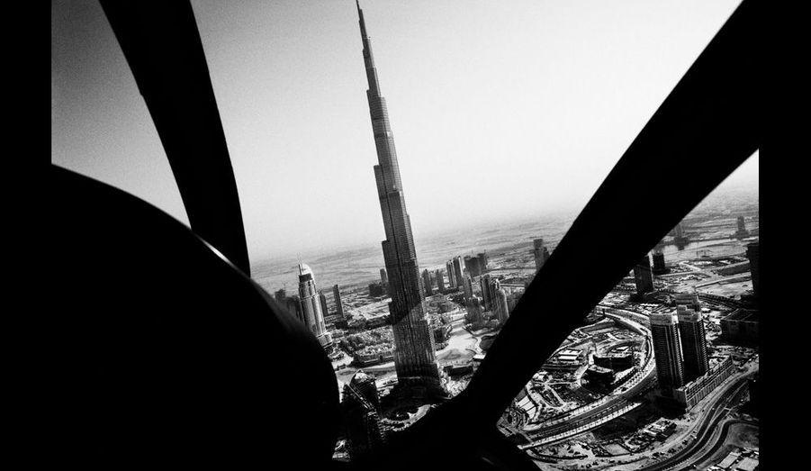 Image aérienne, février 2010.