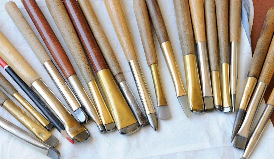 Les différents outils de l'atelier.