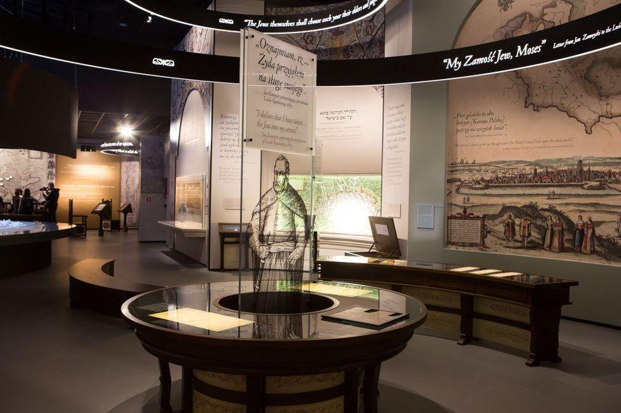 1569-1648: la salle qui évoque l'âge d'or des juifs en Pologne et en Lituanie entre le 16 et et 17e siècle.