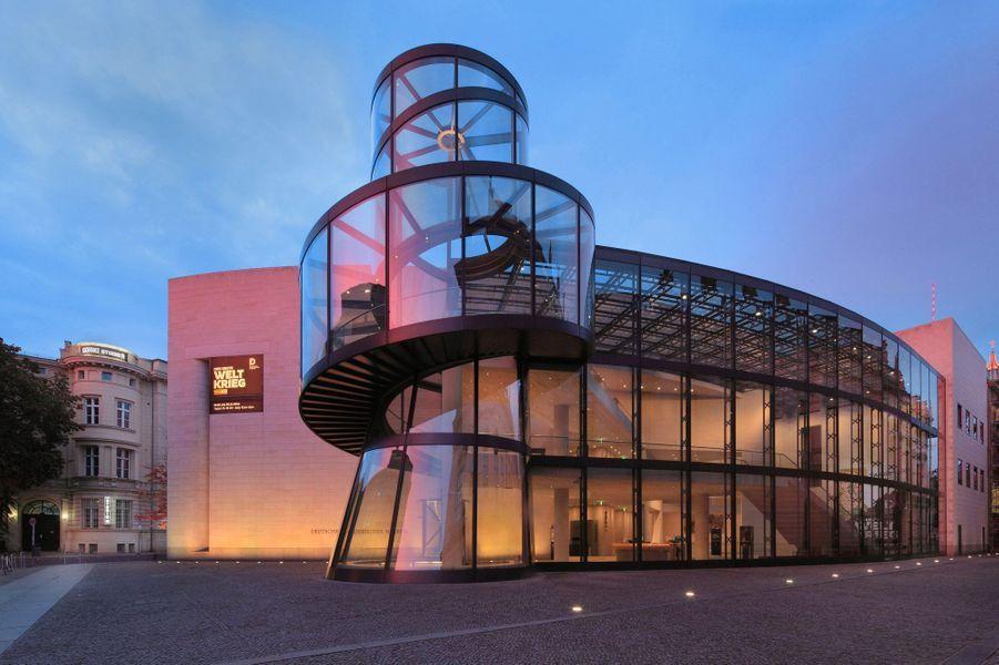 L'extension duDeutsches Historisches Museum, à Berlin, a été achevée en 2003.