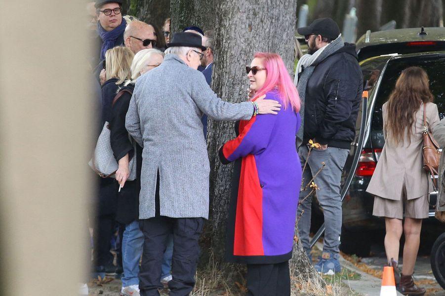 Marilou Berryaux obsèques de son père Philippe Berry lundi