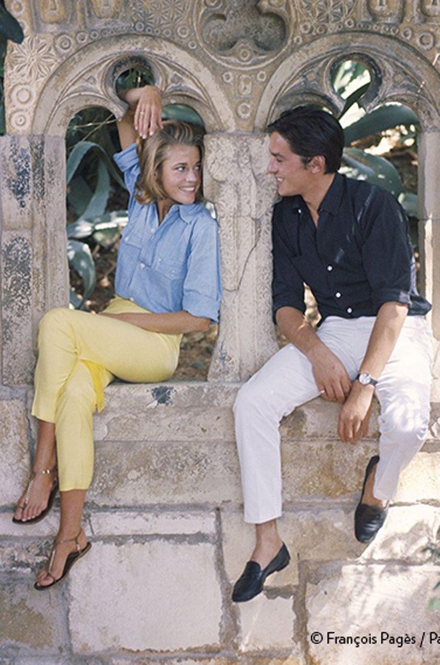 Elle servira de décor au thriller dont ils commenceront le tournage dans quelques jours, le 2 octobre 1963:Les Félins,de René Clément, premier film français de Jane, avant sa rencontre avec Roger Vadim.