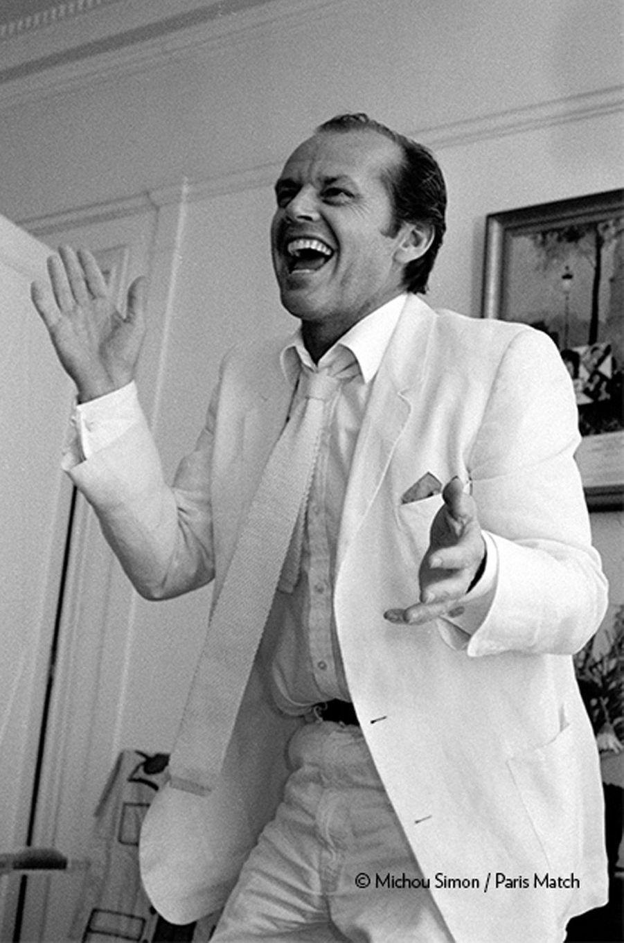 Le facteur sonne toujours deux fois, le film de Bob Rafelson où il se transforme en meurtrier pour les beaux yeux de Jessica Lange, va être projeté ce soir, hors compétition, au Festival de Cannes. Ce sera un triomphe.