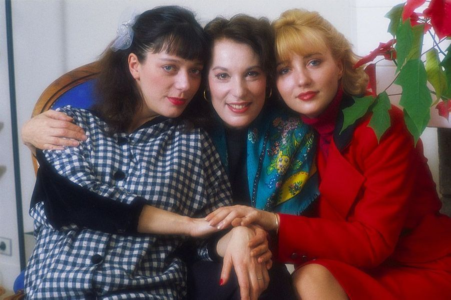 Bernadette Lafont et ses filles