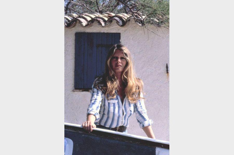 Brigitte Bardot à la Madrague