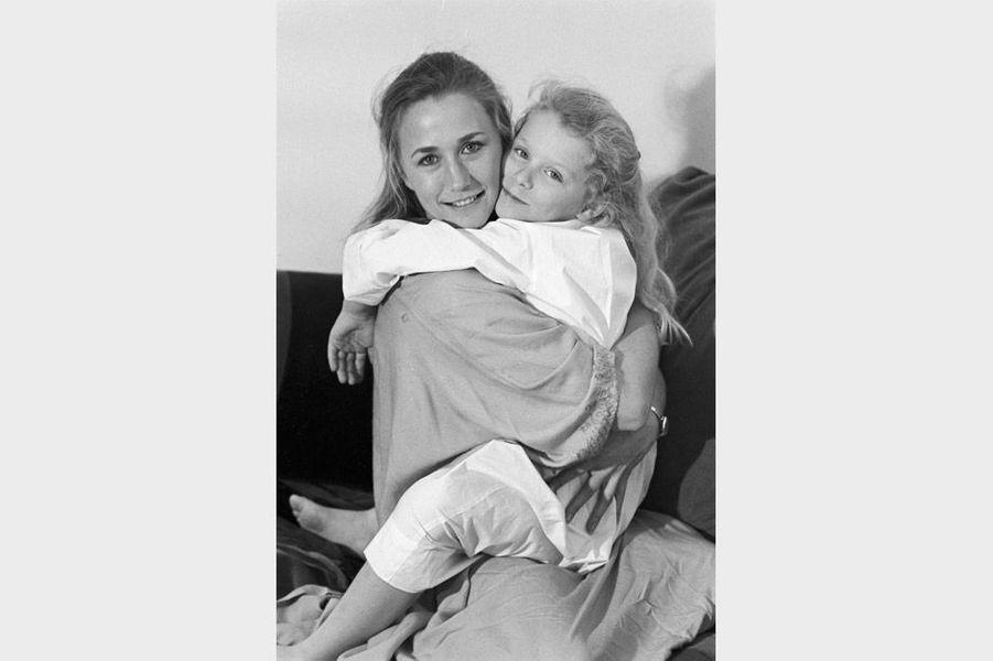 Brigitte Fossey et sa fille 2