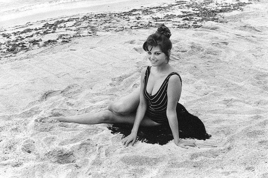 Claudia Cardinale au Festival de Cannes 1961