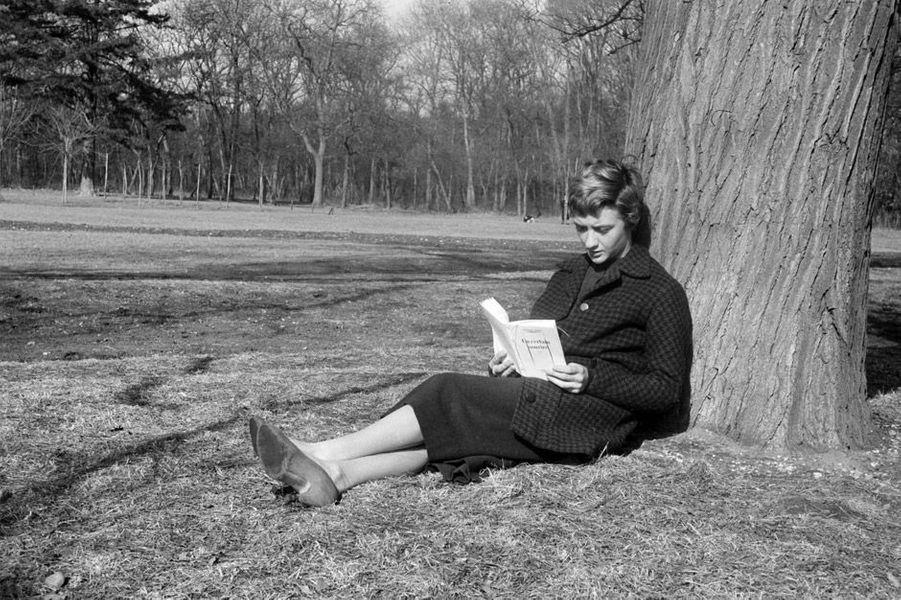 Françoise Sagan en 1956
