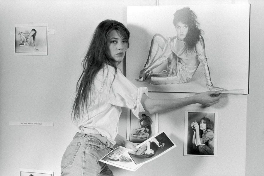 Jane Birkin à l'Espace Canon
