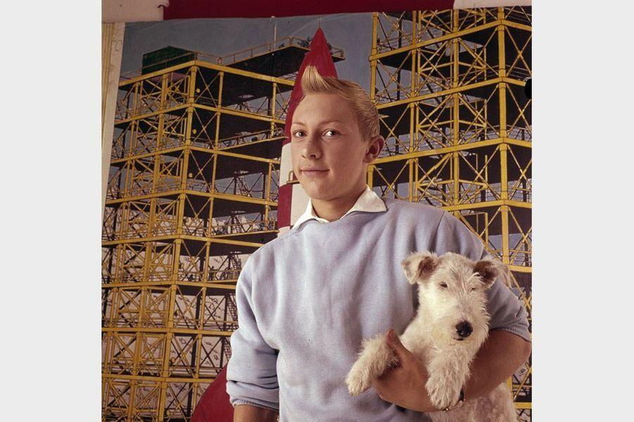 Jean Pierre Talbot incarne Tintin