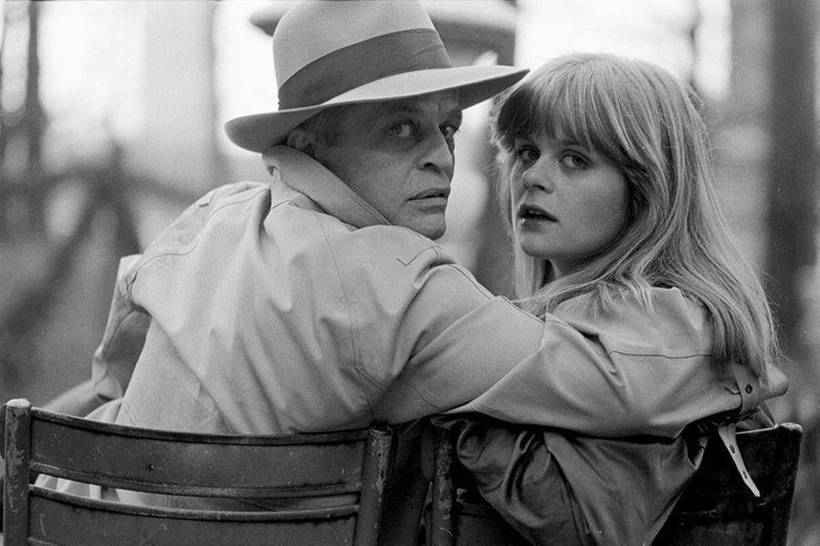 Klaus Kinski et sa fille Pola à Paris