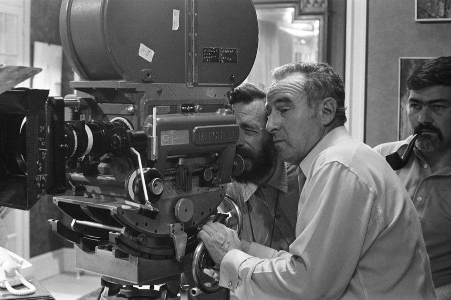 """Le tournage du film """"Mado"""" de Claude Sautet"""