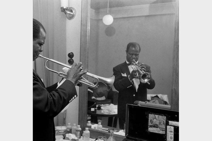Louis Armstrong en France