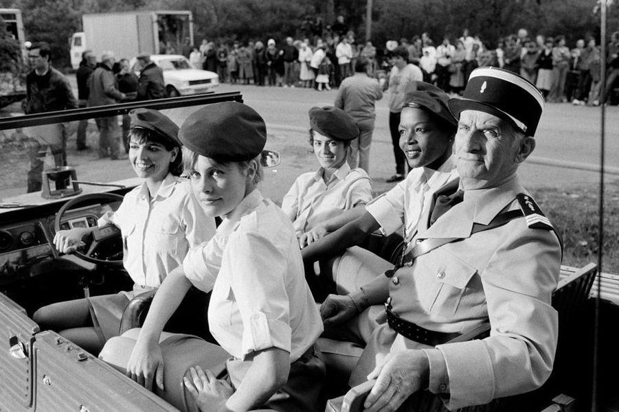 Louis de Funès dans le gendarme et les gendarmettes