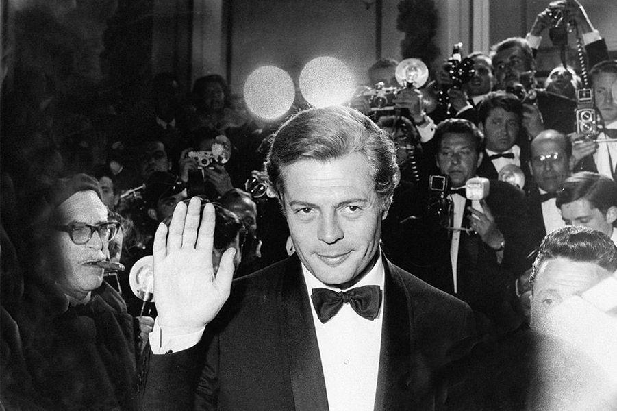 Marcello Mastroianni au 15ème Festival de Cannes