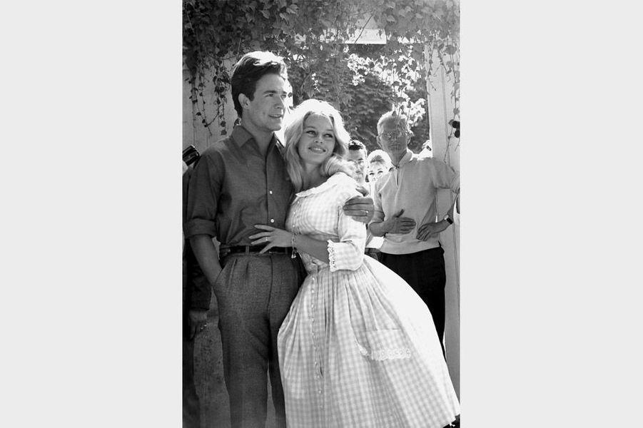 Mariage de Brigitte Bardot avec Jacques Charrier