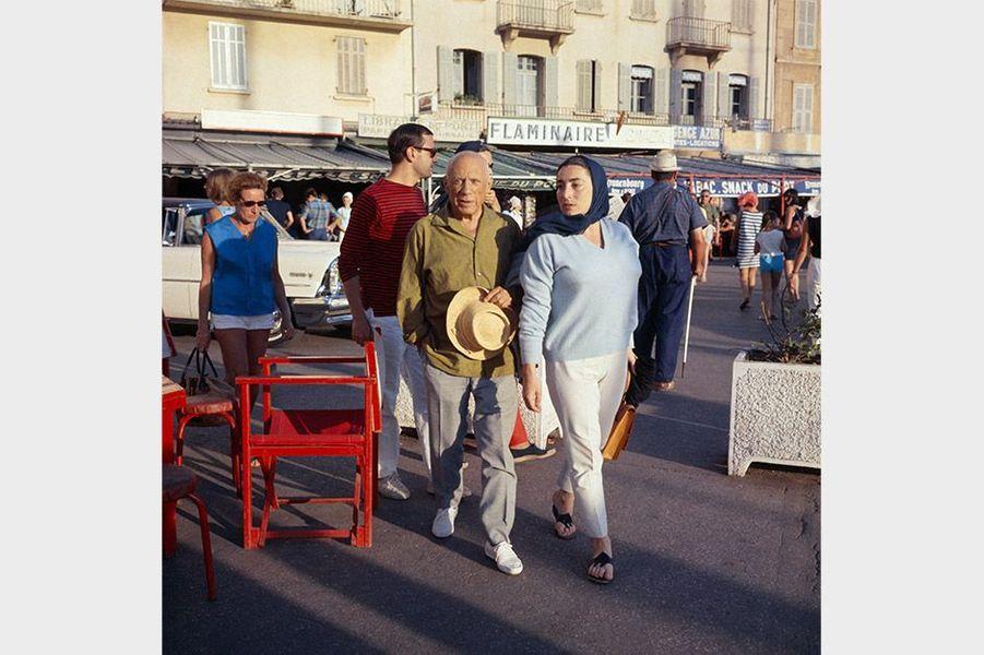 Pablo Picasso à Saint-Tropez