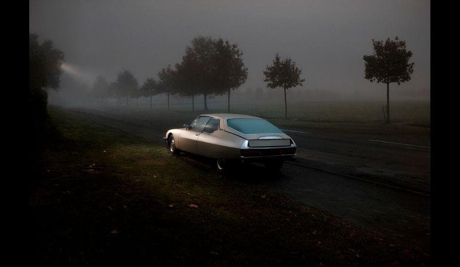 « Secondary Road », d'Olivier Metzger, 2007 : ou la réalité comme un rêve éveillé. Entre 5 000 et 8 000 euros, galerie Bertrand Grimont.