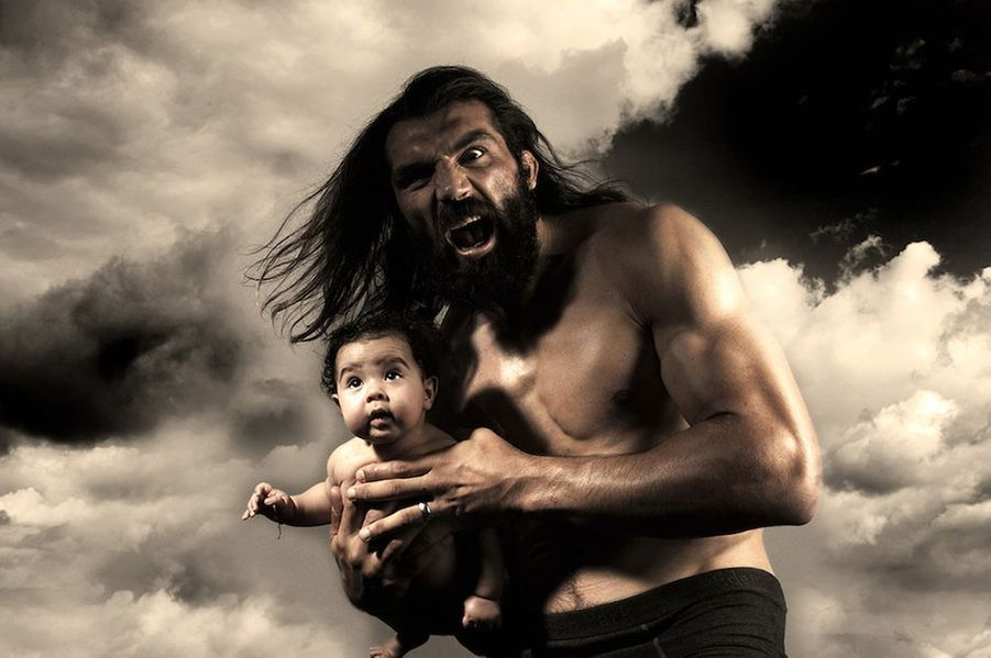 Caveman, Sébastien Chabal, 2007, rugby.