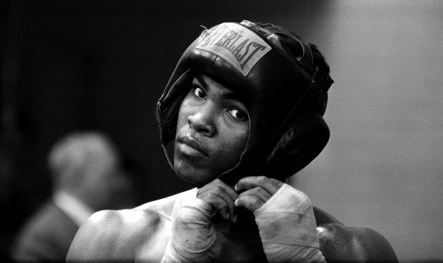 Still Cassius Clay I, Mohamed Ali, 1963, boxe.
