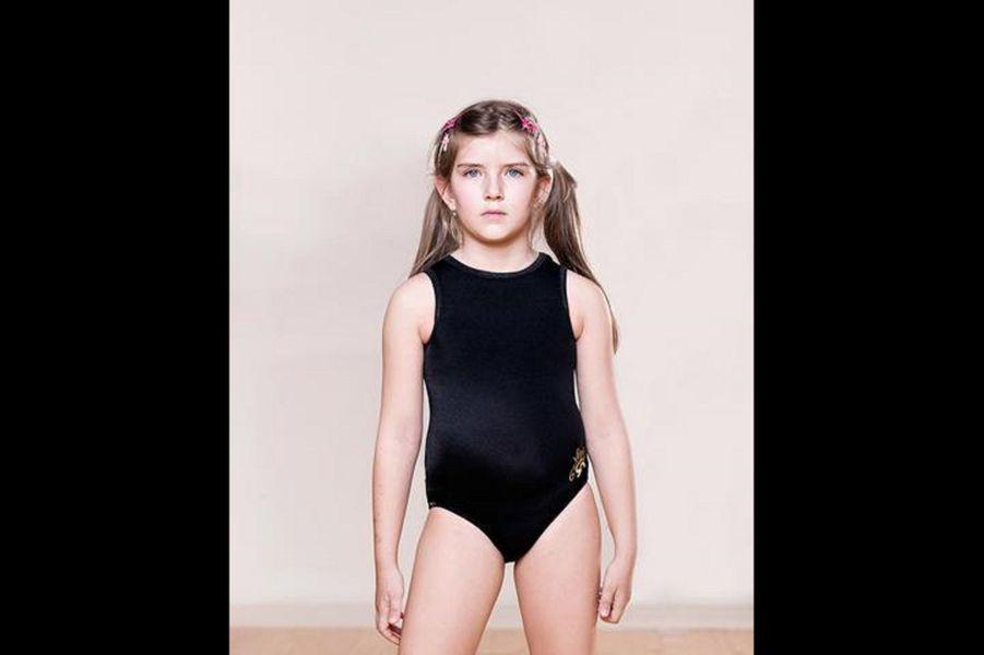 Hristina, 2015, gymnaste.
