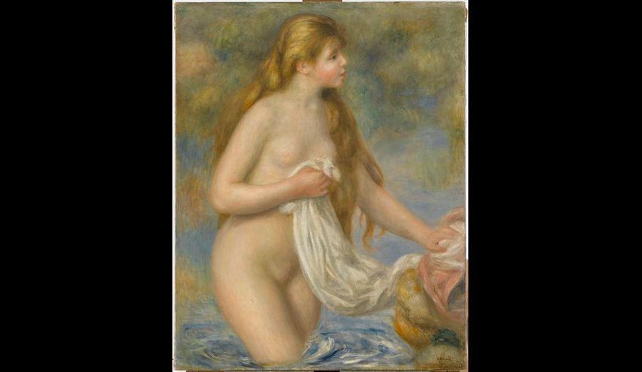 Huile sur toile, 82 x 65 cm, musée de l'Orangerie, Paris.