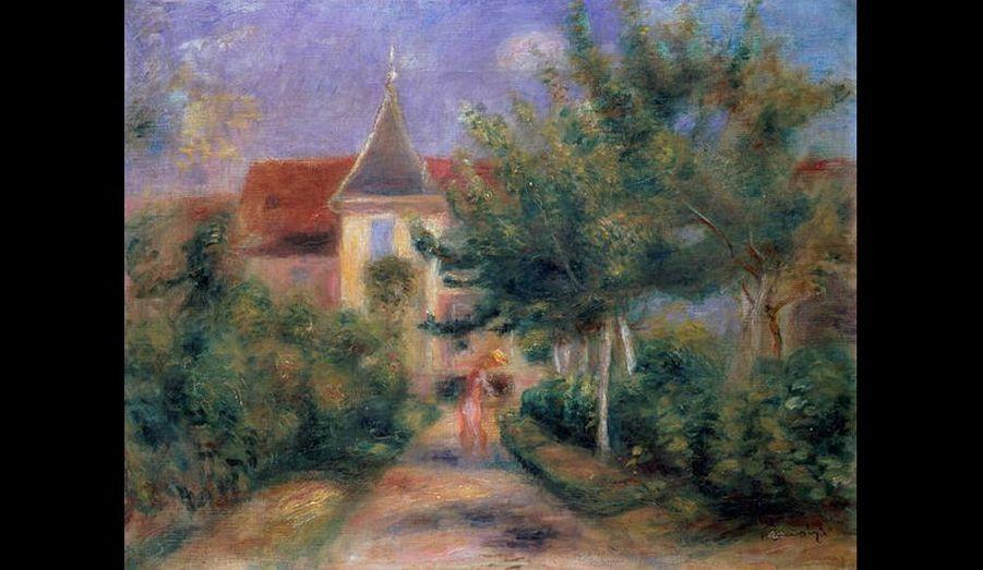 Huile sur toile, 41 x 33 cm, Galerie Daniel-Malingue, Paris.