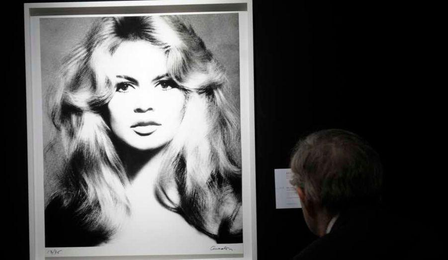 Brigitte Bardot, 1959 tirage argentique tirage argentiqueEstimé entre 50 000 et 70 000 euros