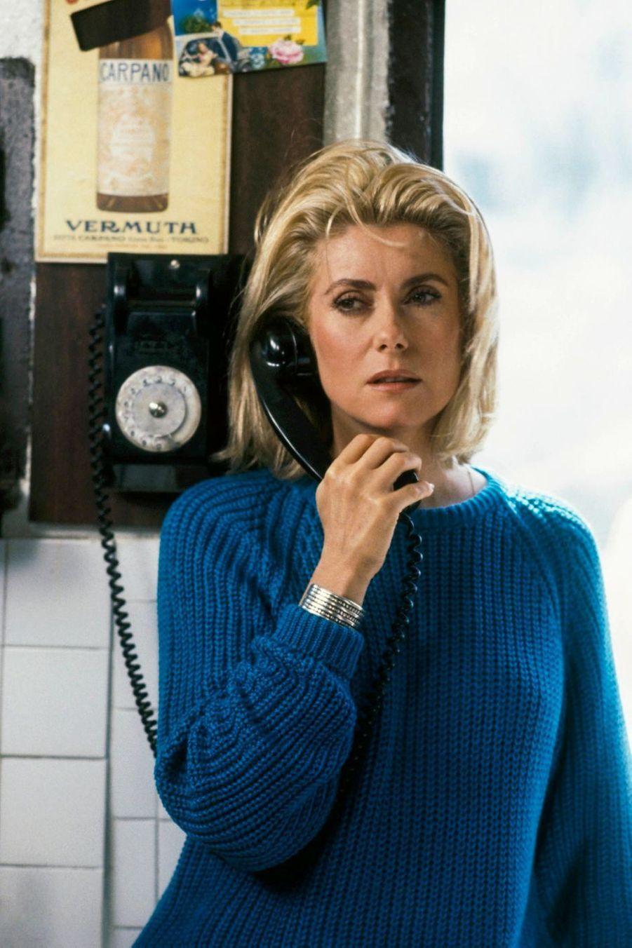 Catherine Deneuve sur le tournage du «Bon plaisir» de Francis Girod en 1983