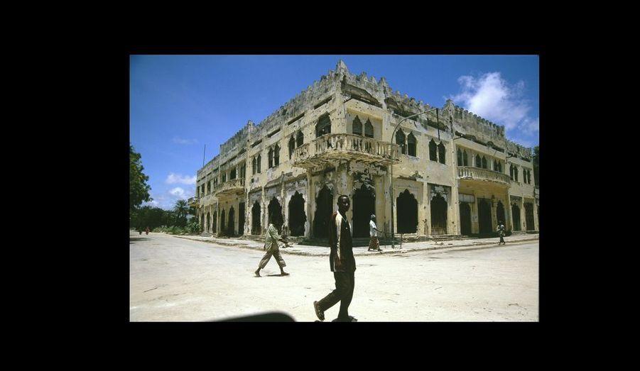 Mogadiscio. Sur la ligne verte, le quartier de Shangani est pratiquement désert.
