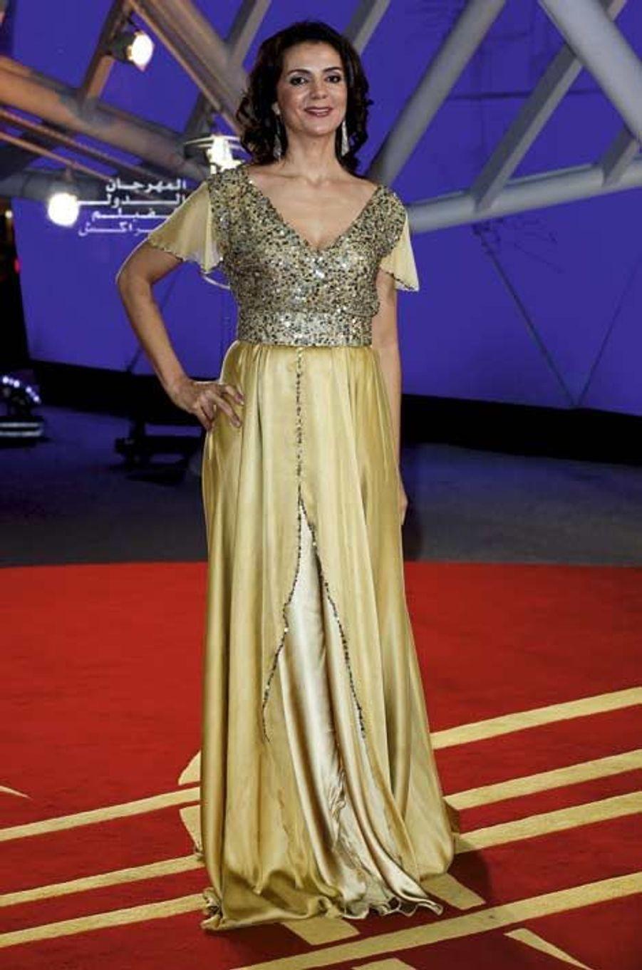 Amal Ayouch, actrice née à Casablanca