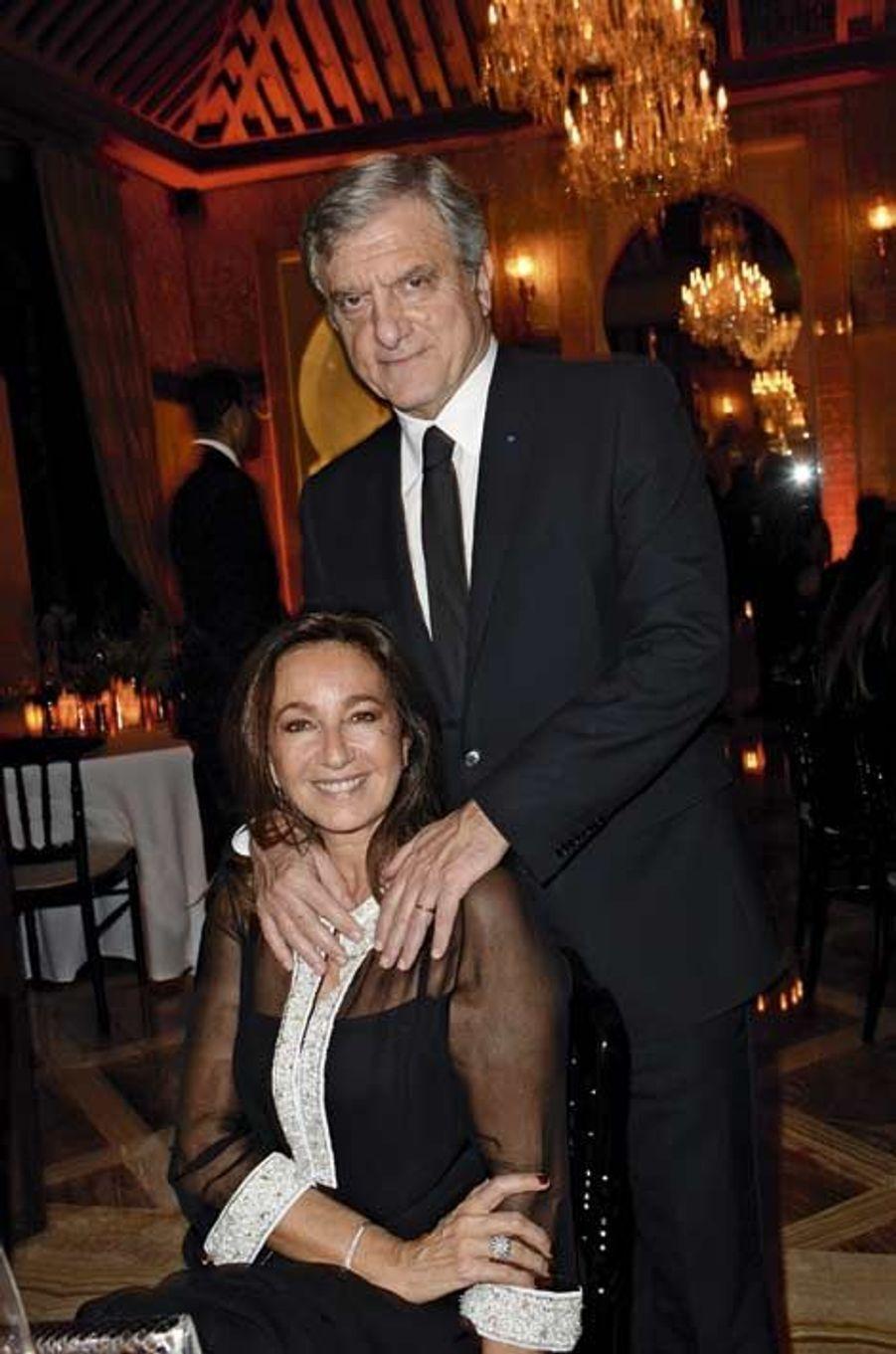 Sidney Toledano, P-DG de Dior, et sa femme, Katia