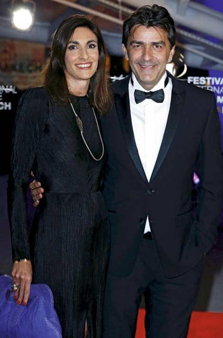 Yannick Alléno et sa femme, Laurence Bonnel