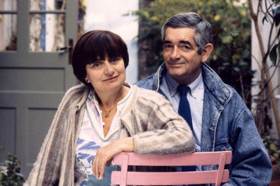 Agnès Varda et Jacques Demy dans les années 1980.
