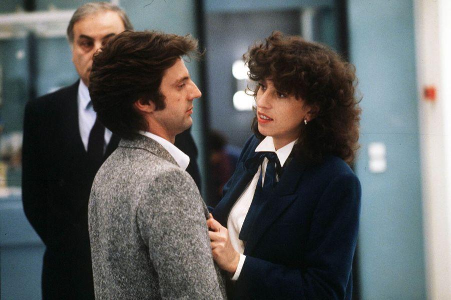 Anémone en 1982 dans «Pour cent briques, t'as plus rien...» avec Daniel Auteuil