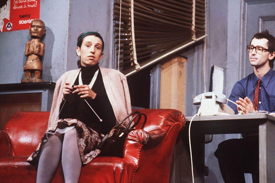 Anémone en 1982 dans «Le père Noël est une ordure» avec Thierry Lhermitte