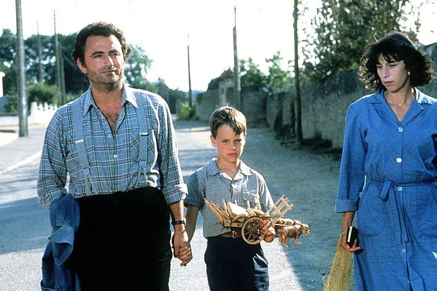 Anémone en 1987 dans «Le Grand Chemin» avec Richard Bohringer